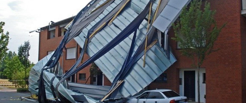 Tornado Kaputtes Haus